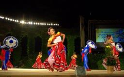 Folklorefestivaletapp Arkivbilder