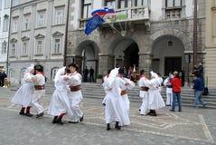 Folkloregruppe Lizenzfreie Stockfotos