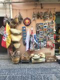 Folkloremarkt Stockfotografie