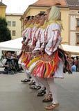 folkloreserb Royaltyfri Fotografi