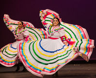 Folkloric ballet of Mexico Royalty Free Stock Images