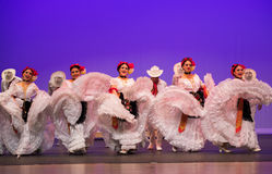 Folkloric ballet of Mexico Royalty Free Stock Photos