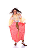 Folkloric costume from the Balkans Stock Photo