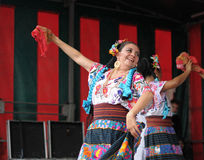 Folkloric dancer from Mexico Stock Images