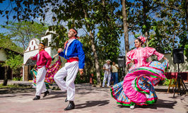 Folkloric Dancers - Puerto Vallarta, Mexico Royalty Free Stock Image