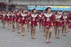 Folkloric dances parade Peruvian national holidays royalty free stock images