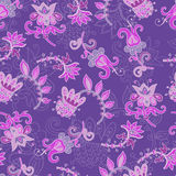Folkloric seamless pattern Stock Photography