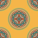 folkloric textildesign Arkivbilder