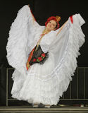 Folklorico Dancer Royalty Free Stock Photography
