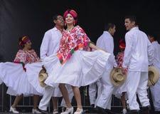 Folklorico Dancer Stock Photo