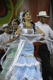 Folklorico Dancer stock photo