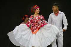 Folklorico Dancers Royalty Free Stock Photography