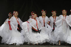 Folklorico Dancers Stock Photos