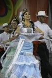 Folklorico dansare arkivfoto