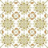 Folklorische Batikverzierung vektor abbildung