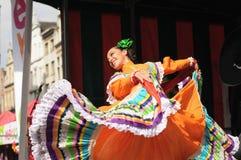 Folklorissimo festival Royaltyfri Bild