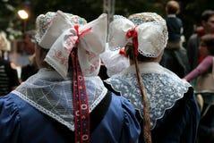 folkloru 18 strój Obrazy Royalty Free