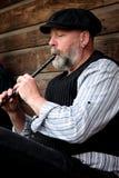 folkloru muzyk Zdjęcie Royalty Free