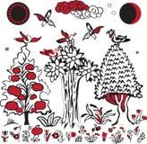 folkloru wizerunku rosjanin Zdjęcie Royalty Free