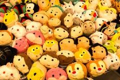 Folkmassa av leksaker Royaltyfri Foto
