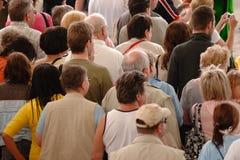 folkmassafolk Royaltyfri Bild