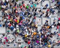 folkmassafolktextur Arkivfoto