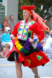 Folkmoot Performer from Peru Royalty Free Stock Photo