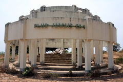 Folkmordminnesmärke på Kibimba royaltyfri foto