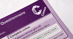 folkräkning 2011 uk arkivfoto