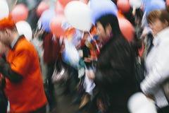 Folkrörelse Royaltyfria Bilder