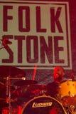 Folkstone στη λέσχη MI 04-11-2017 ζωντανής μουσικής Στοκ εικόνα με δικαίωμα ελεύθερης χρήσης
