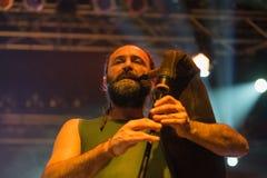 Folkstone στη λέσχη MI 04-11-2017 ζωντανής μουσικής Στοκ φωτογραφίες με δικαίωμα ελεύθερης χρήσης