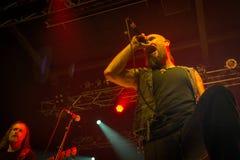 Folkstone στη λέσχη MI 04-11-2017 ζωντανής μουσικής Στοκ Εικόνες