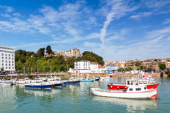 Folkstone Harbour Stock Image