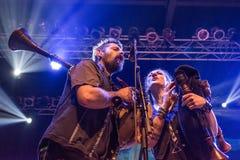 Folkstone przy muzyka na żywo klubem MI 04-11-2017 Obraz Stock