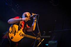 Folkstone przy muzyka na żywo klubem MI 04-11-2017 Zdjęcia Royalty Free