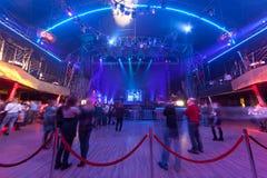 Folkväntanstart av konserten av Emin Agalarov Royaltyfri Foto