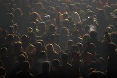 Folla 1 Fotografia Stock