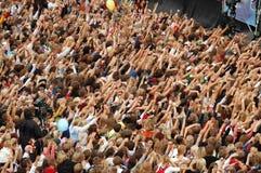 Folla Immagini Stock