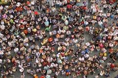 Folla Immagine Stock Libera da Diritti