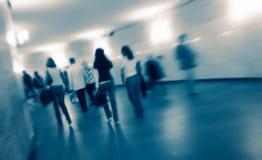 Folla astratta Fotografia Stock
