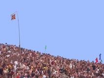 folla d'affondamento Immagini Stock Libere da Diritti