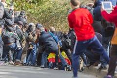 Folla degli spettatori - 2016 Parigi-piacevole Immagine Stock Libera da Diritti