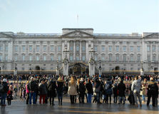 Folla dei turisti Fotografia Stock Libera da Diritti
