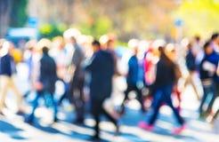 Folla della gente fotografia stock libera da diritti