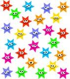 Folla della stella Immagine Stock