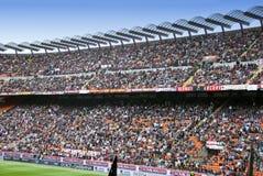 Folla dello stadio Fotografia Stock