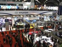 Folla enorme all'Expo automatica 2012 Fotografia Stock