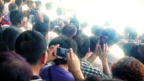 Folla generica della gente a EventPile archivi video