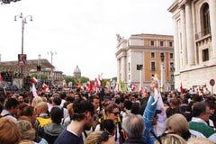 Folla nella chiesa della st peter Fotografia Stock Libera da Diritti